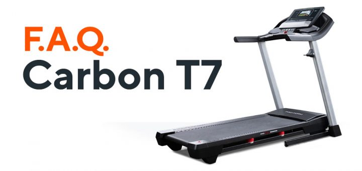 Frequently Asked Questions: Carbon T7 Treadmill | ProForm Blog