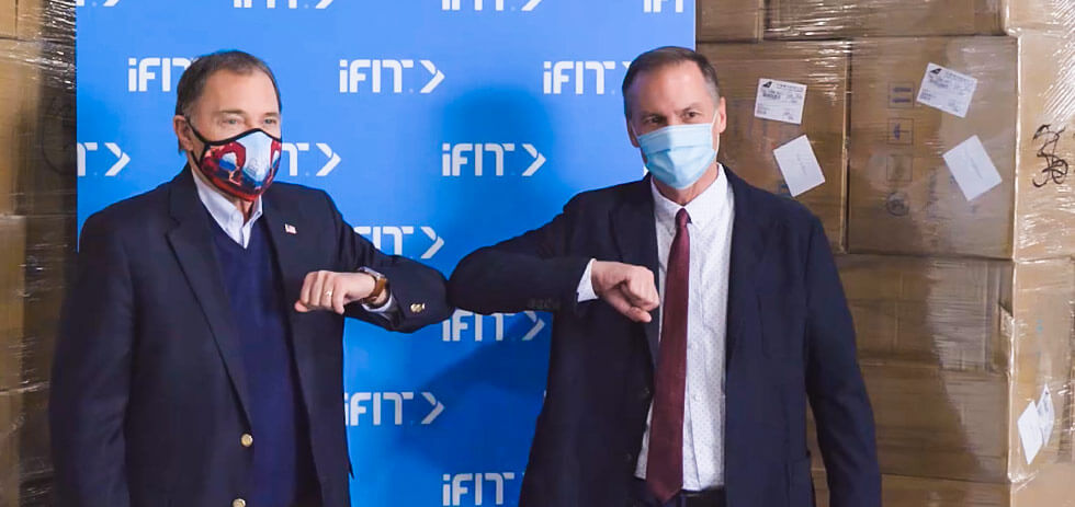 1.3 Million Masks Donated To Support COVID-19 Relief By iFit | ProForm Blog