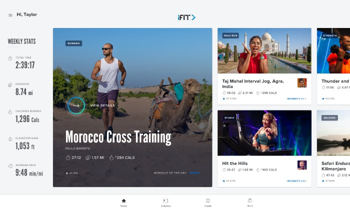 Exercise Tracking Tool iFit – ProForm Blog