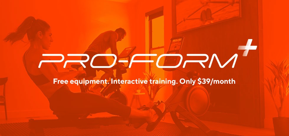 Introducing ProForm+: FREE Equipment With iFIT Purchase | ProForm Blog
