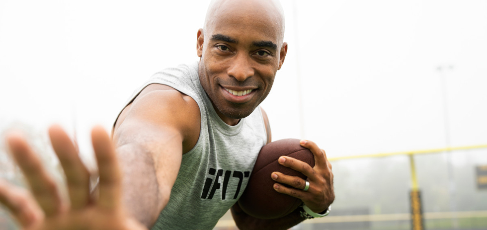 Train With A Pro: Tiki Barber | ProForm Blog