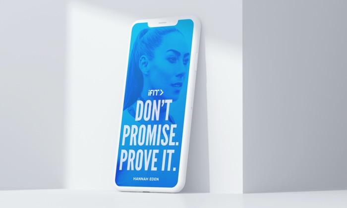 Hannah Eden Phone Wallpaper – ProForm Blog