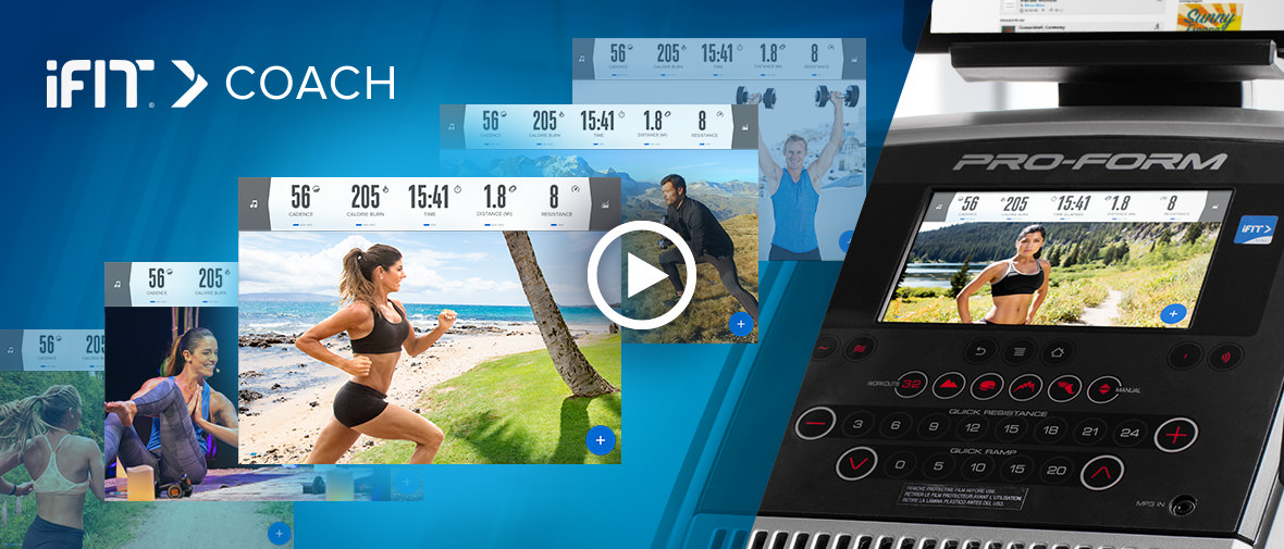 1-Year iFit® Coach* Membership Included