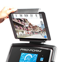 Integrated Tablet Holder with DeVice Grip™ Design