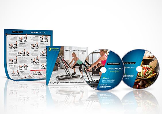 Included Workout DVD, Meal Plan DVD, and Exercise Chart
