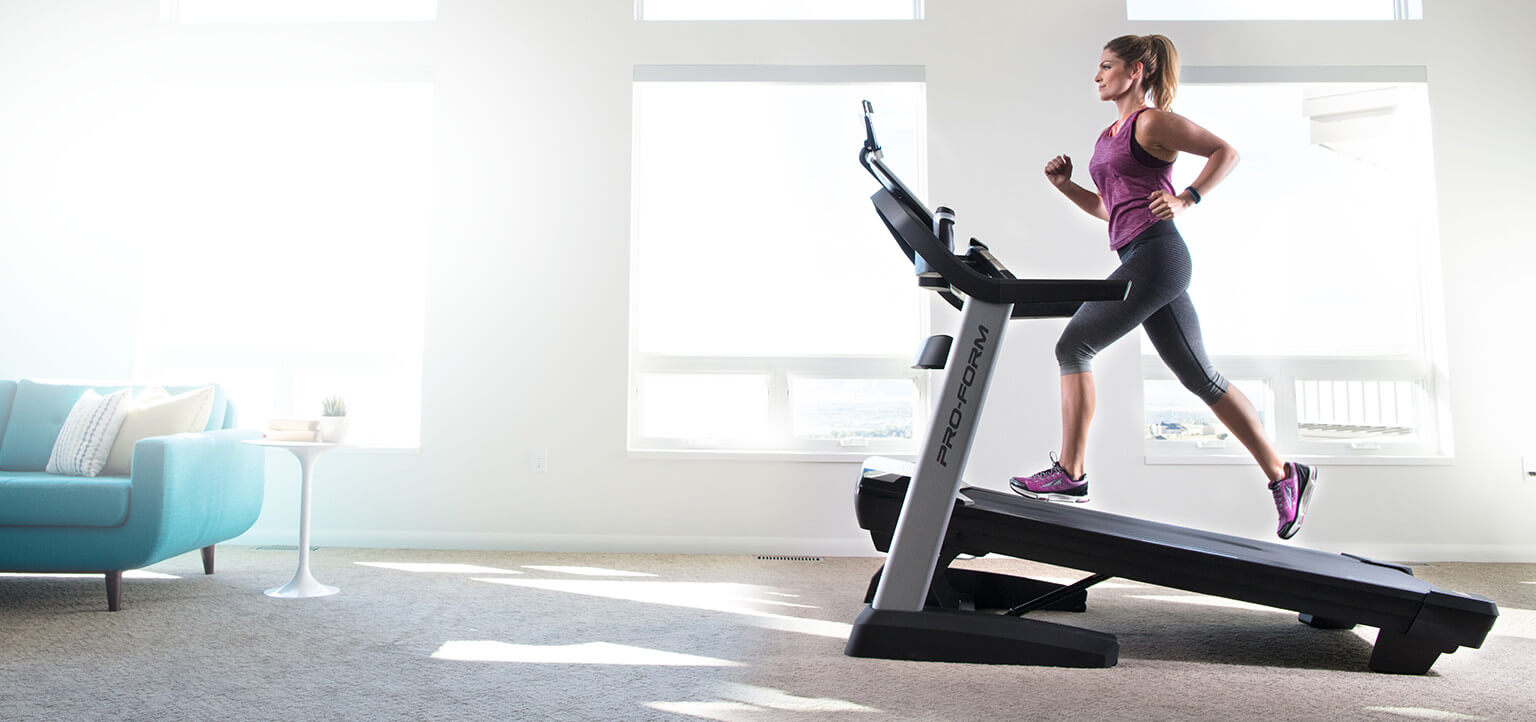 Burn 2x the calories with incline training