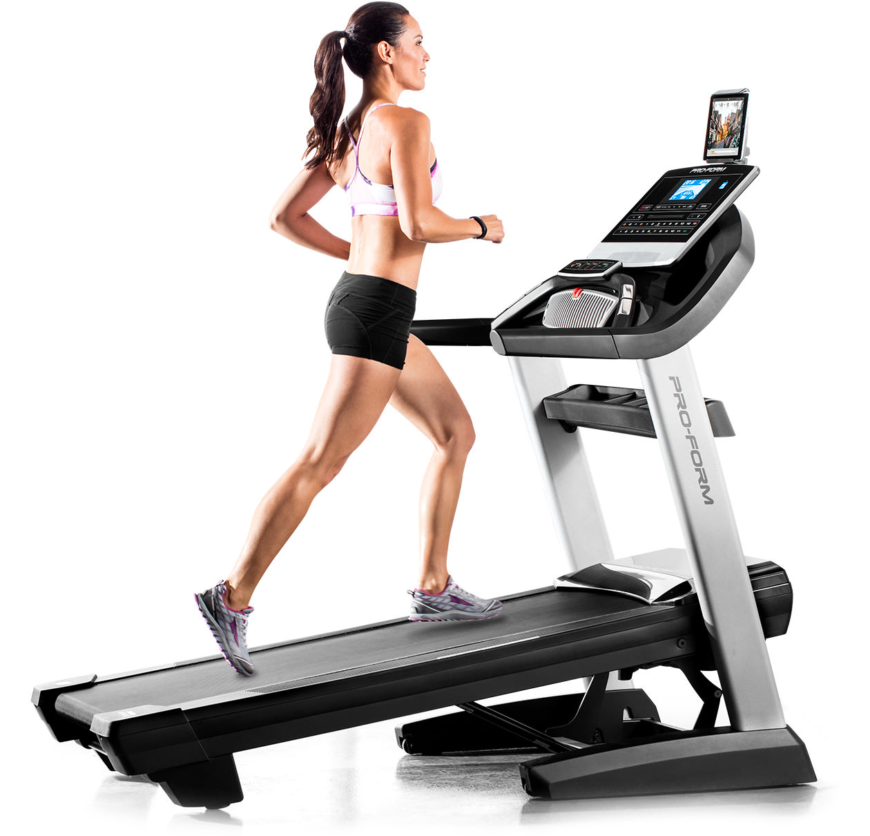 The Mobia Treadmill Has A Couple Things Going For It Right Off Bat You Notice Clean And Simple Ipod Esque Aesthetics From Frog Design