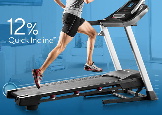 0 – 12% Digital Quick Incline™ Control