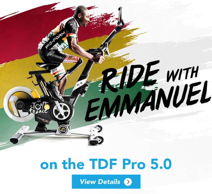 Ride with Emmanuel on the TDF Pro 5.0
