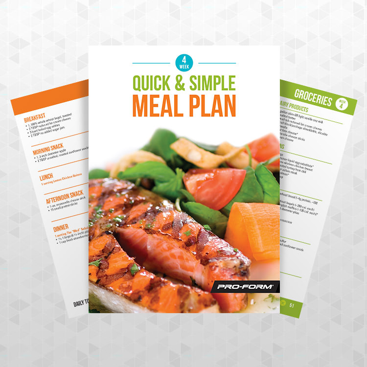 Treadmills meal plan proform download pdf forumfinder Images