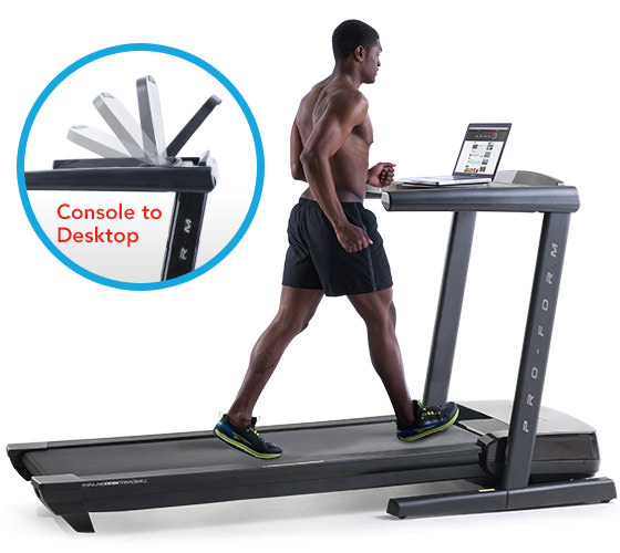 Thinline Treadmill Desk