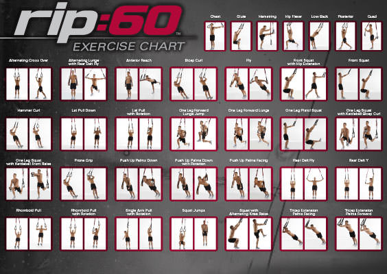 Quick-Start Exercise Chart