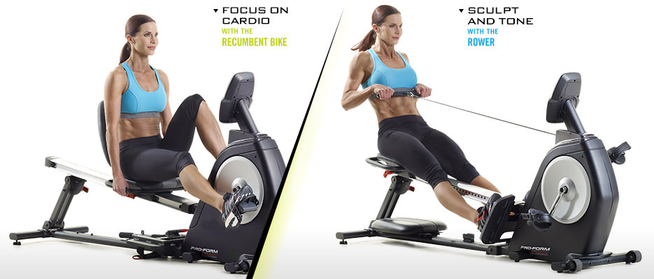 ProForm Dual Trainer Bike-Rower | ProForm