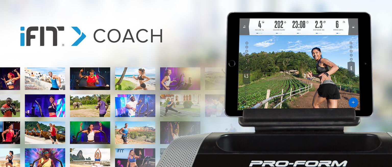 iFit® Coach Bluetooth Smart Enabled*