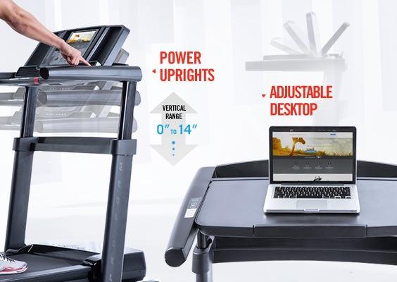 Proform Thinline Pro Treadmill Desk Proform